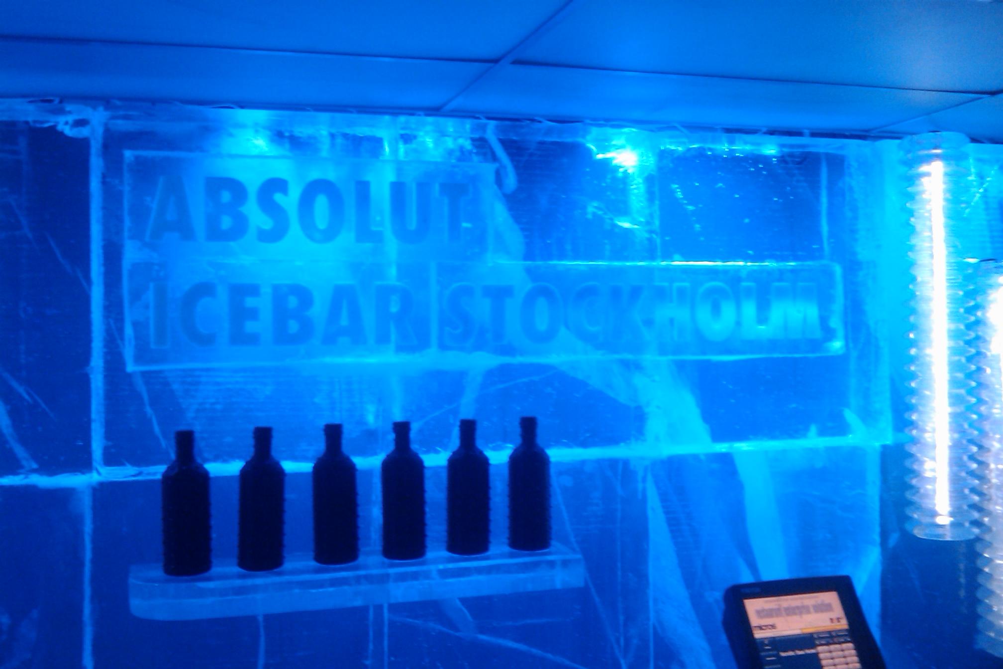 absolut ice bar stockholm